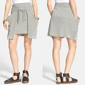 FREE PEOPLE - All Tied Up Layered Skirt